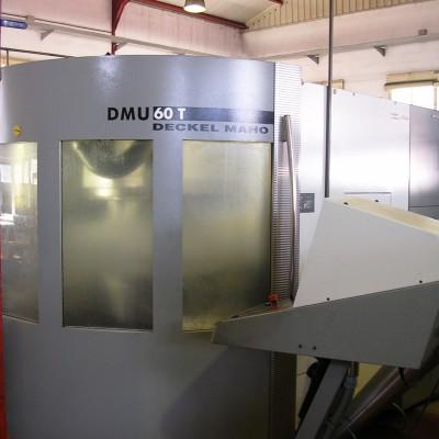 Centro de mecanizado 5 ejes. DECKEL MAHO 60T