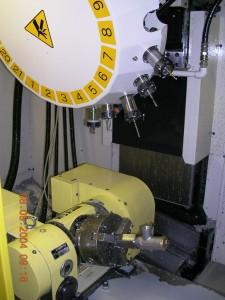 Centro de mecanizado 5 ejes. FANUC ROBODRILL.