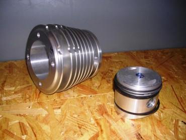 Cilindro mas pistón (equipo motor) R75 WH